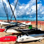 Hobie 17's waiting for action.