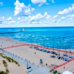 2021 Hobie 17 North American Championship. Drone photos provided by Brandon Claire and Timeless Aerial Photography.