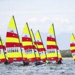 Hobie Multieuropeans Hobie 16 Gold Fleet Day 1. 123