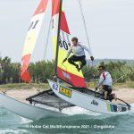 Hobie Multieuropeans Hobie 16 Gold Fleet Day 1. 42