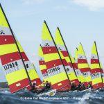 Hobie Multieuropeans Hobie 16 Gold Fleet Day 1. 48